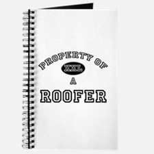 Property of a Roofer Journal