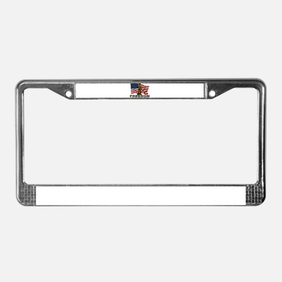 FREEDOM.png License Plate Frame