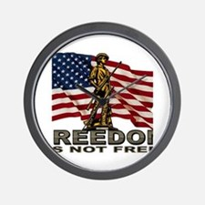 FREEDOM.png Wall Clock