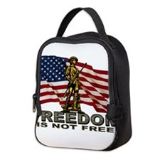 FREEDOM.png Neoprene Lunch Bag