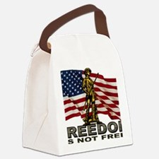 FREEDOM.png Canvas Lunch Bag