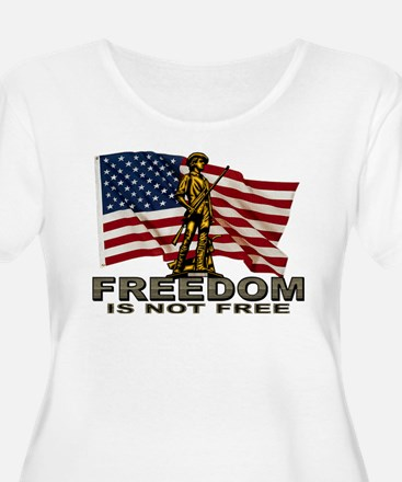 FREEDOM Plus Size T-Shirt