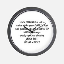 Life's journey Wall Clock