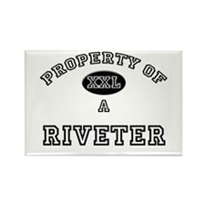 Property of a Riveter Rectangle Magnet