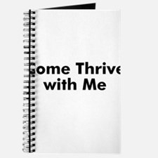 Come Thrive with Me Journal