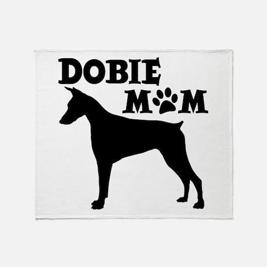DOBIE MOM Throw Blanket