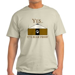 Bear Proof Yurt T-Shirt