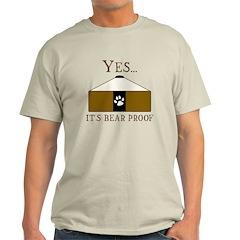 Bear Proof Yurt T-Shirt