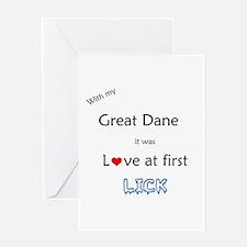 Dane Lick Greeting Card