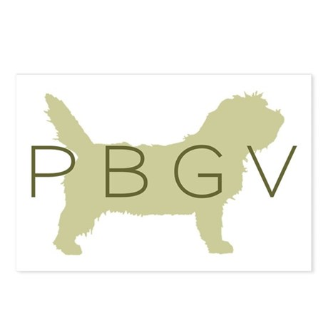 PBGV Dog Sage Postcards (Package of 8)