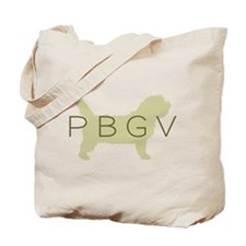 PBGV Dog Sage Tote Bag