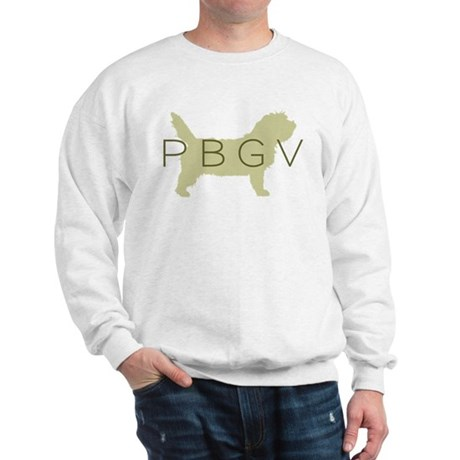 PBGV Dog Sage Sweatshirt