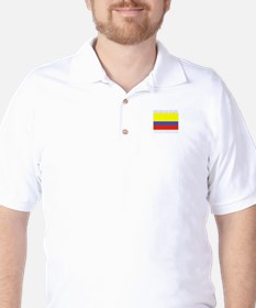 San Andres Island, Colombia Golf Shirt