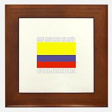 San Andres Island, Colombia Framed Tile