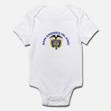 San Andres Island, Colombia Infant Bodysuit