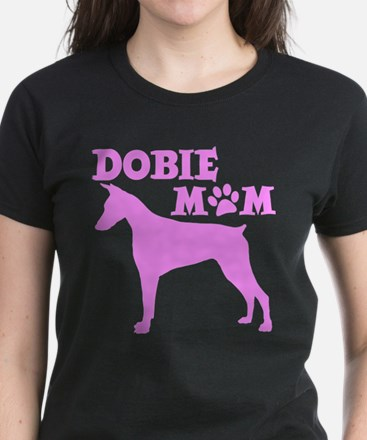 DOBIE MOM Women's Dark T-Shirt