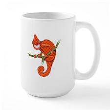 Hound's Tooth Chameleon Mug