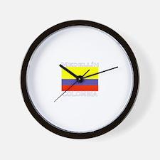 Medellin, Colombia Wall Clock