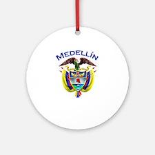 Medellin, Colombia Ornament (Round)