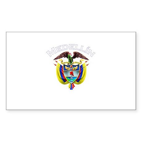 Medellin, Colombia Rectangle Sticker
