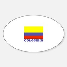 Colombia Oval Decal