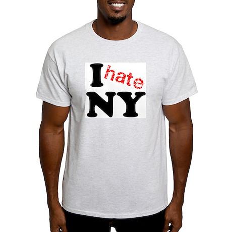 I hate NY Light T-Shirt