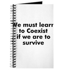We must learn to Coexist if w Journal