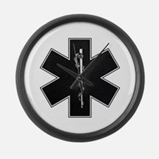 emt_bw.png Large Wall Clock