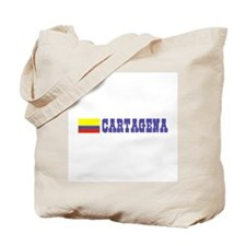 Cartagena, Colombia Tote Bag
