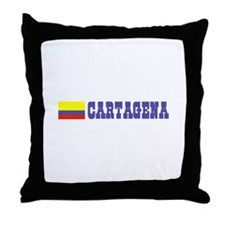 Cartagena, Colombia Throw Pillow
