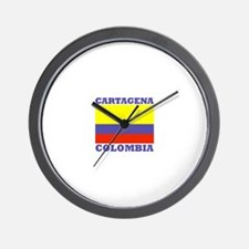 Cartagena, Colombia Wall Clock