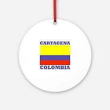Cartagena, Colombia Ornament (Round)