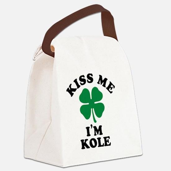 Unique Kole Canvas Lunch Bag