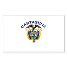 Cartagena, Colombia Rectangle Decal