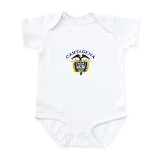 Cartagena, Colombia Infant Bodysuit