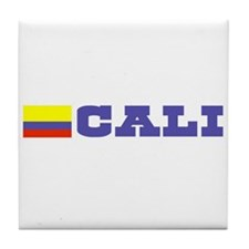 Cali, Colombia Tile Coaster