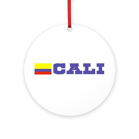 Cali, Colombia Ornament (Round)