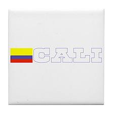 Cali, Colombia Tile Coaster