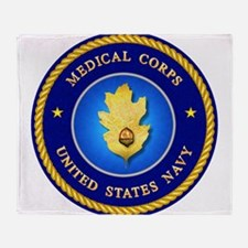 navy_med_corps1A.png Throw Blanket