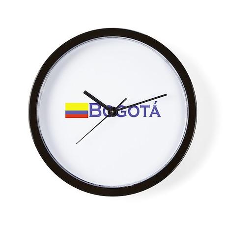 Bogota, Colombia Wall Clock