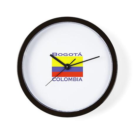Bogata, Colombia Wall Clock