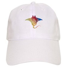 Manta ray Baseball Cap