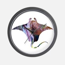 Manta ray Wall Clock