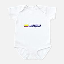 Barranquilla, Colombia Infant Bodysuit