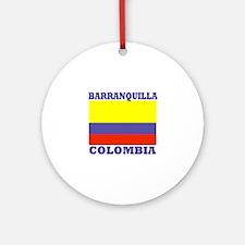 Barranquilla, Colombia Ornament (Round)