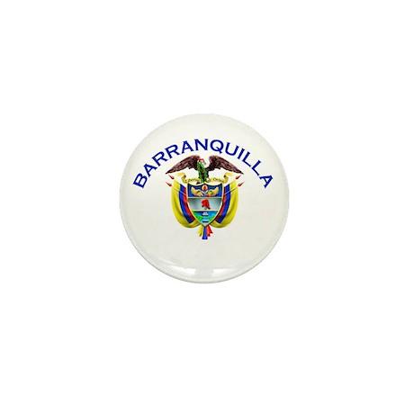 Barranquilla, Colombia Mini Button (10 pack)