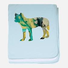 Dingo baby blanket