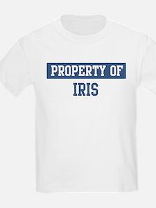 Property of IRIS T-Shirt