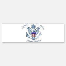 uscg_flg_d2 Bumper Bumper Bumper Sticker