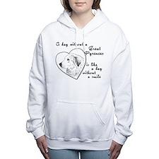 Funny Dogs Women's Hooded Sweatshirt